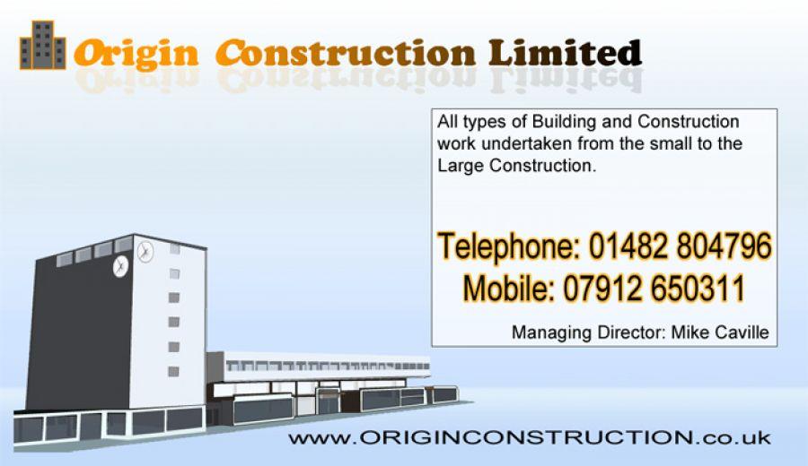 Origin Construction