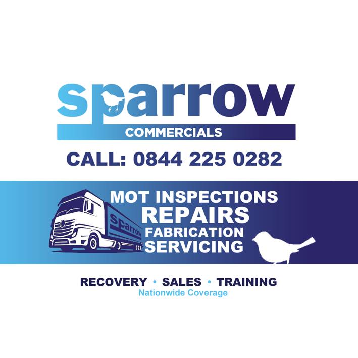 Sparrow Car Sticker