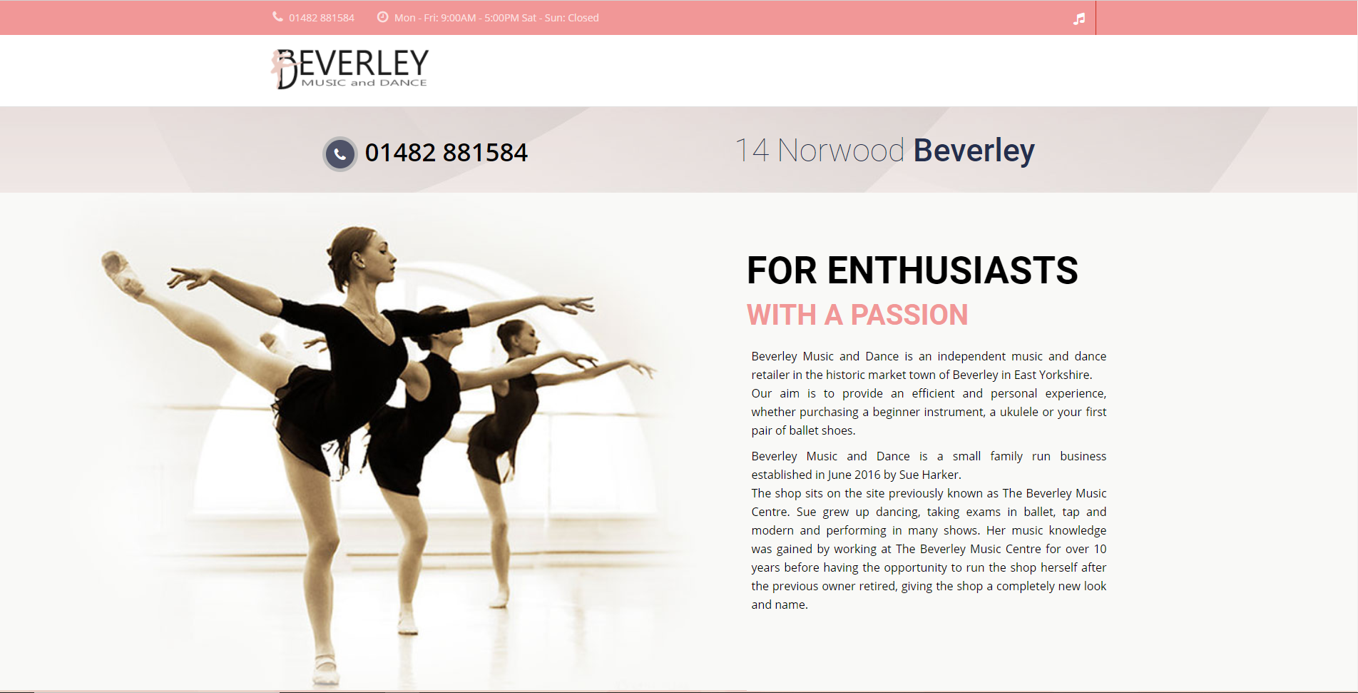 Beverley Music and Dance
