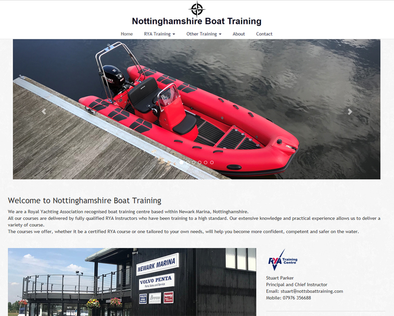 Notts Boat Training